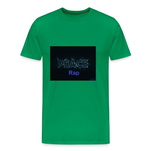 Peace Rap - Männer Premium T-Shirt