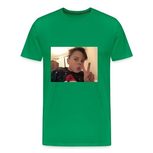 Oscar Frawley upsidedown - Men's Premium T-Shirt
