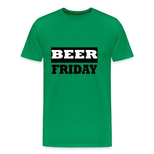 beerfriday - Camiseta premium hombre