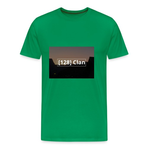 128 Clan logo - Männer Premium T-Shirt