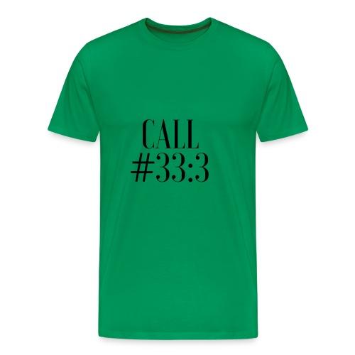Marvin Lara - Call 33:3 V2 - Camiseta premium hombre