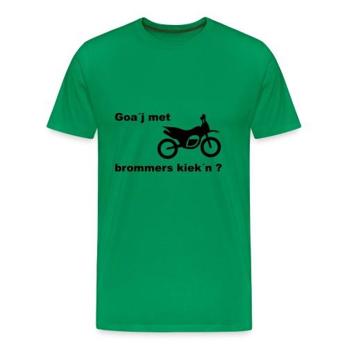 Brommers kijken - Mannen Premium T-shirt