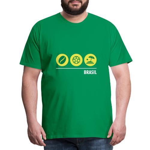 Circles - Brazil - Men's Premium T-Shirt