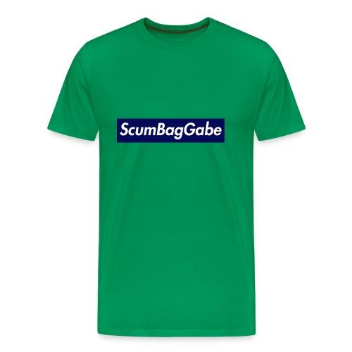 ScumBagGabe Blue XL Logo - Men's Premium T-Shirt