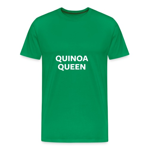 Quinoa Queen Night Mode - Men's Premium T-Shirt