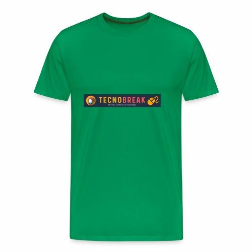 TecnoBreak Líderes en Tecnología - Camiseta premium hombre