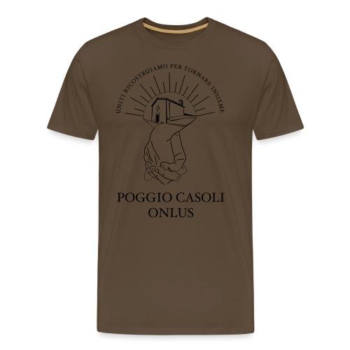 Poggio Casoli Onlus_UNITI - Maglietta Premium da uomo