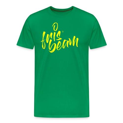 Frisbeam Jaune - T-shirt Premium Homme