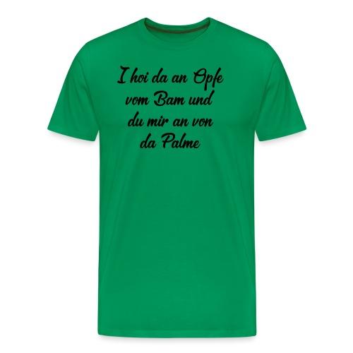 Die Palme - Männer Premium T-Shirt
