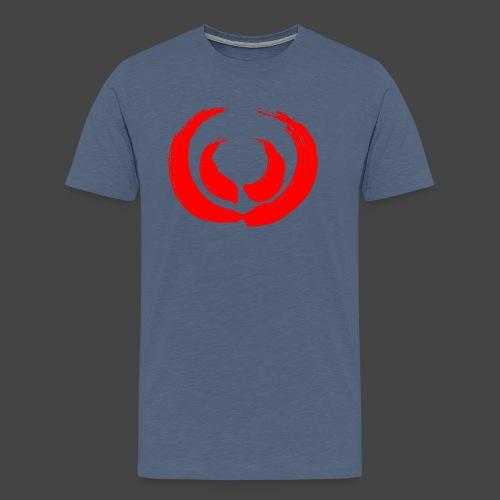 Gewaff-Shirt Blutpinsel - Männer Premium T-Shirt