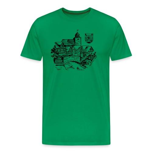 Ronshausen historisch - Männer Premium T-Shirt