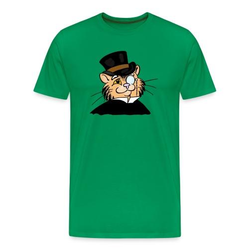Gatto nonno - Maglietta Premium da uomo