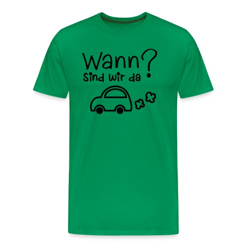 Reise-Shirt - Männer Premium T-Shirt