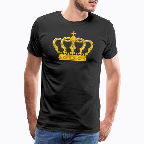 Golden crown - Men's Premium T-Shirt