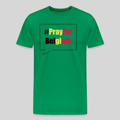 #PrayForBelgium - T-shirt Premium Homme
