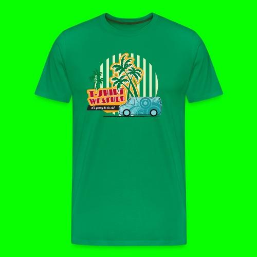 T-shirt Weather - Mannen Premium T-shirt