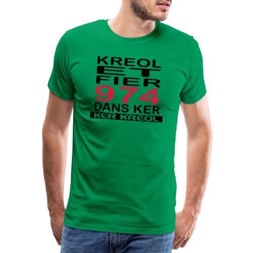 fier et kreol hom 02 ti - T-shirt Premium Homme