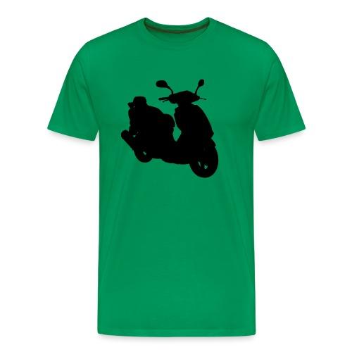 Daelim Otello Silhouette von vorne rechts - Männer Premium T-Shirt