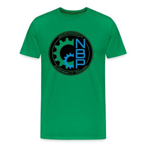 Shirt-NBP-BlackBlue (1) - Mannen Premium T-shirt