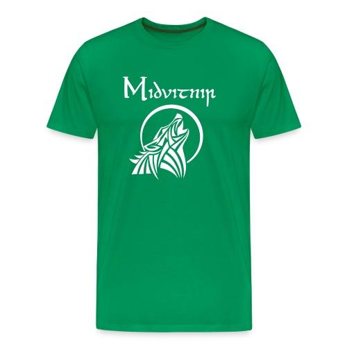 Midvitnir #1 - Premium-T-shirt herr