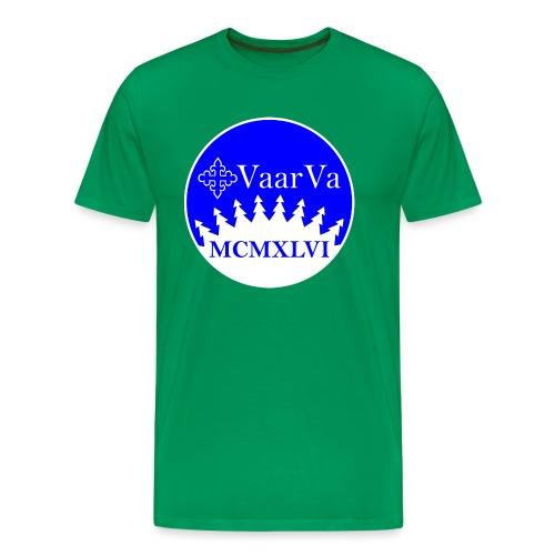 Hihamerkki - Miesten premium t-paita