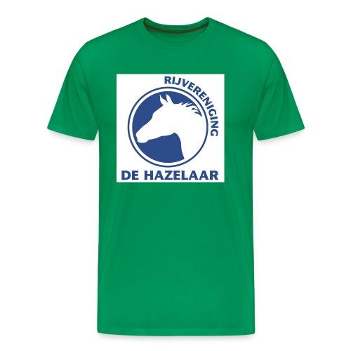 LgHazelaarPantoneReflexBl - Mannen Premium T-shirt