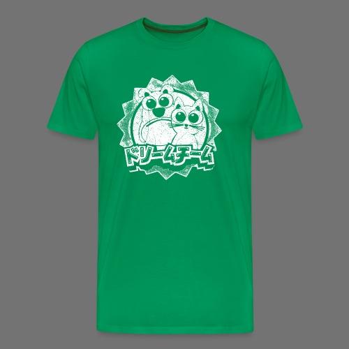 Dreamteam (1c white) - Männer Premium T-Shirt