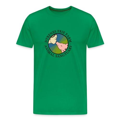 Dyrenes Frie Farm Logo - Herre premium T-shirt