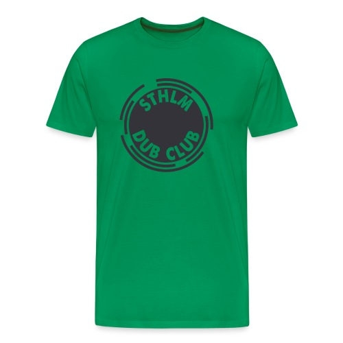 Sthlm Dub Club Logo - Premium-T-shirt herr