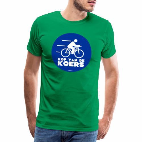 Kop van de koers - Mannen Premium T-shirt