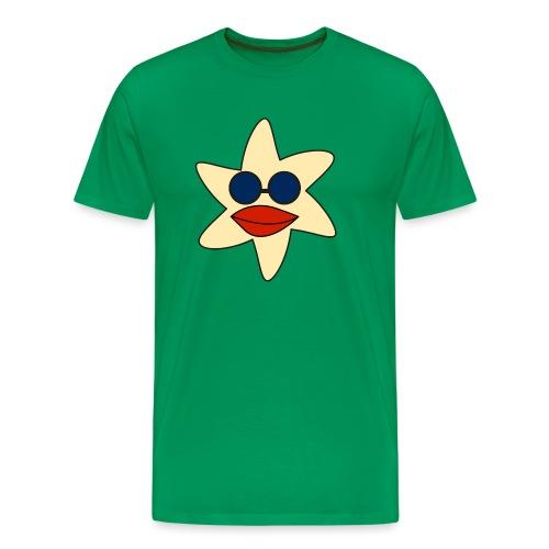 seestern mit sonnenbrille - Männer Premium T-Shirt