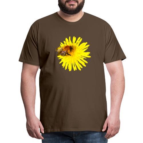 Voikukka ja kimalainen - Miesten premium t-paita