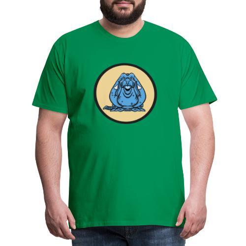 Blue - Premium-T-shirt herr