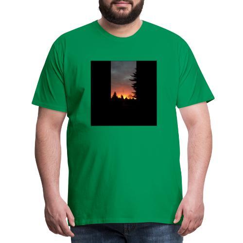 Morgenrotdrama Small Short - Männer Premium T-Shirt