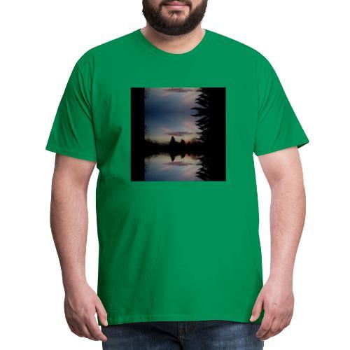 Sonnenhorizont Spiegelung Ufowolke - Männer Premium T-Shirt
