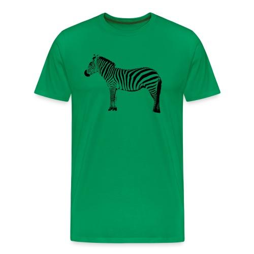 Zebra - Men's Premium T-Shirt