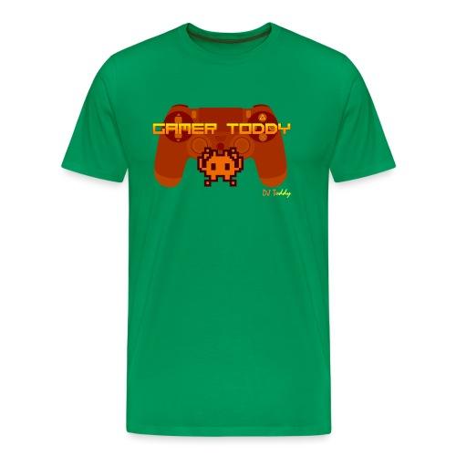 GAMERTODDY (orange) - Männer Premium T-Shirt