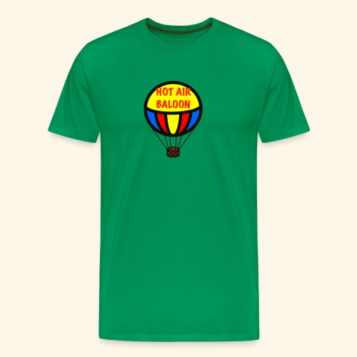 hotair baloon - Maglietta Premium da uomo