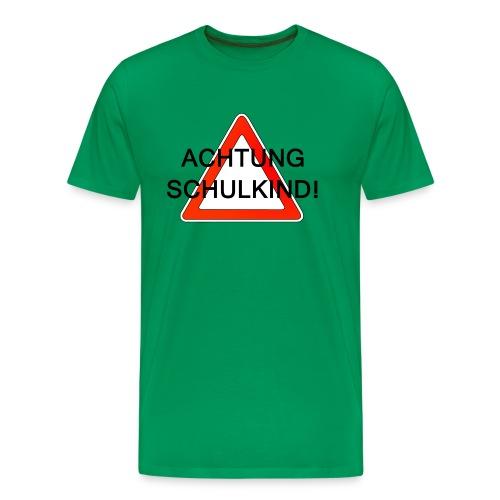 Schulweg - Männer Premium T-Shirt
