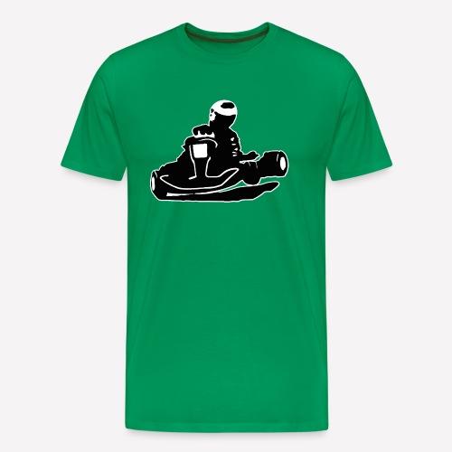 Kart freigestellt - Männer Premium T-Shirt