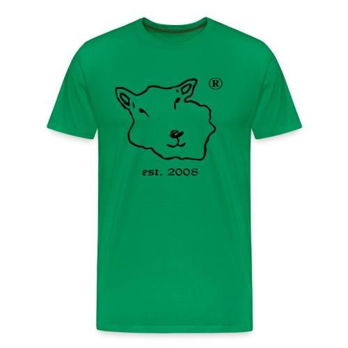 Floer von Foehr est 2008 vector kleiner.ai - Männer Premium T-Shirt