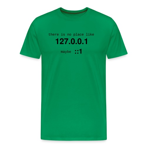 127-0-0-1-new - T-shirt Premium Homme