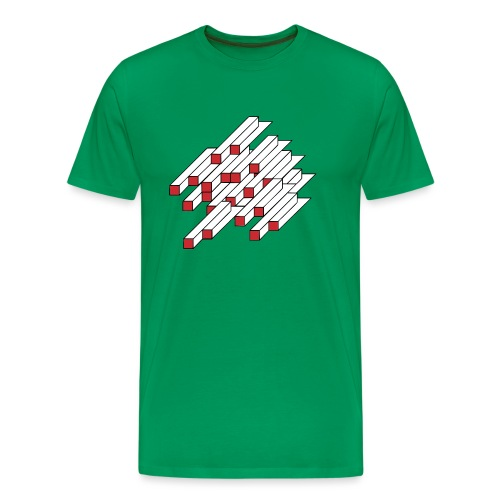 Unmögliche Figur 008 - Männer Premium T-Shirt