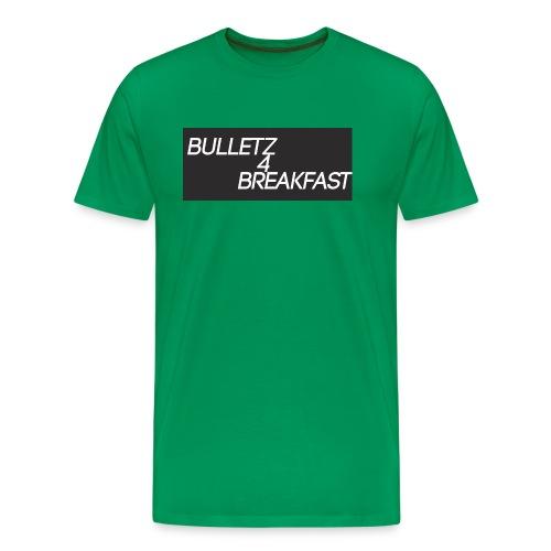 bulletz4breakfast_t-shirt - Men's Premium T-Shirt
