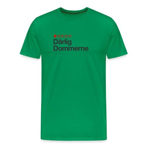 Dårligdommerne Sort tekst - Herre premium T-shirt