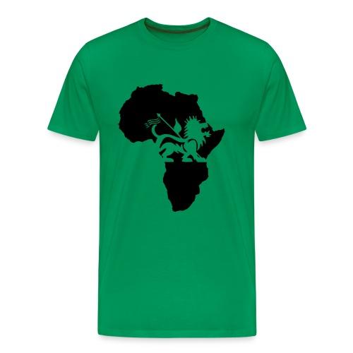 lion_of_judah_africa - Men's Premium T-Shirt