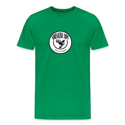 logo adrenalina100% - Maglietta Premium da uomo