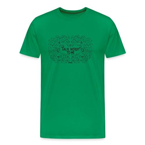 TalkNerdyToMe - Mannen Premium T-shirt