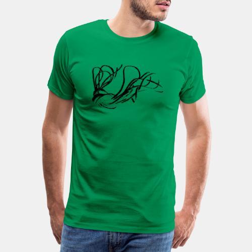Rope Shibari - Männer Premium T-Shirt