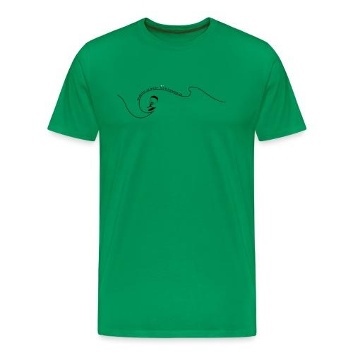 kiterwelle - Männer Premium T-Shirt